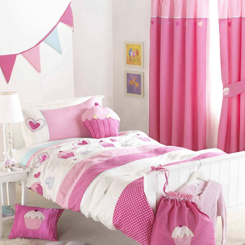 La chambre pour enfant rideaux jet es de lit sur mesure for Rideaux chambre d enfants