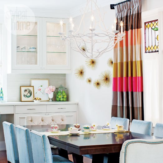 d coration avec rideaux oeillets sur mesure. Black Bedroom Furniture Sets. Home Design Ideas