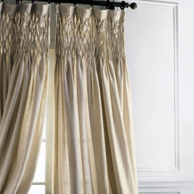 rideaux sur mesure tete a plis élaboré