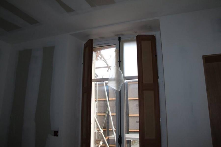 rideaux plis simple lin sur mesure