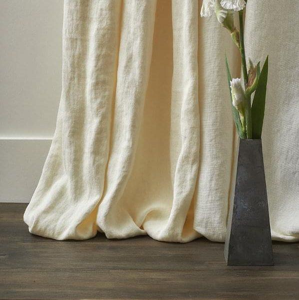 tissu pour les rideaux