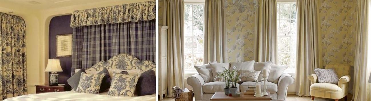 rideaux sur mesure style Provence