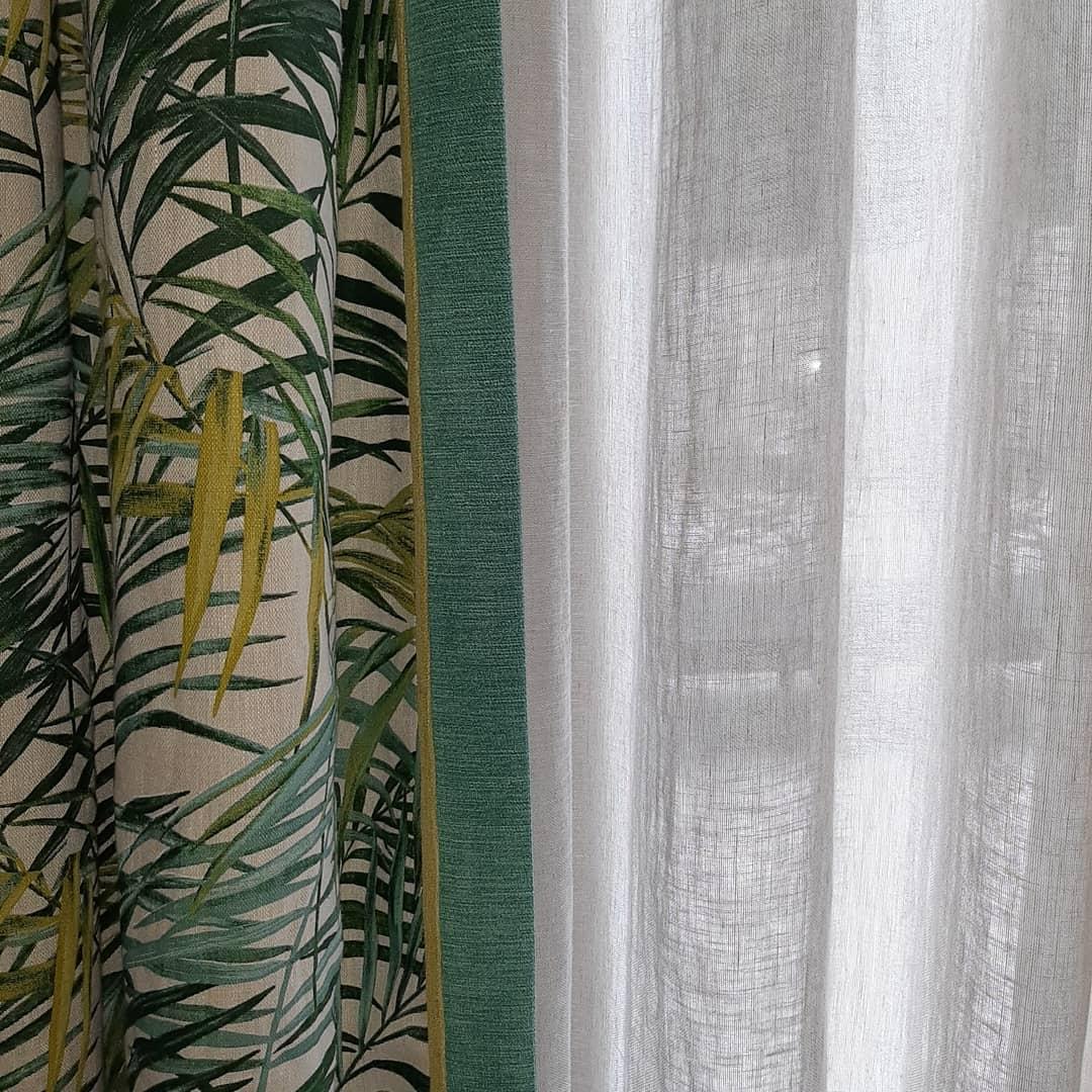 double rideaux contemporains sur mesure nantes
